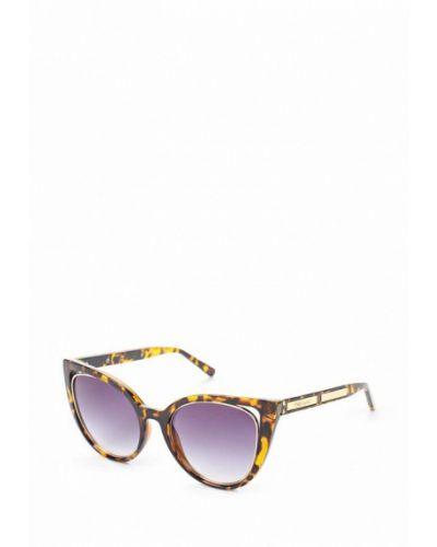Коричневые солнцезащитные очки River Island