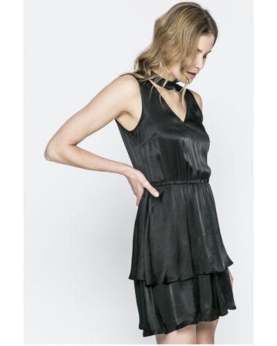 Платье мини из вискозы однотонное Review