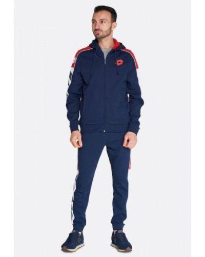 Синий теплый спортивный костюм винтажный Lotto