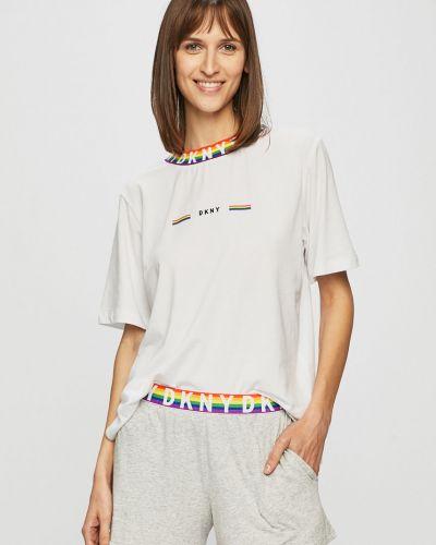 Пижама с шортами белая пижамный Dkny