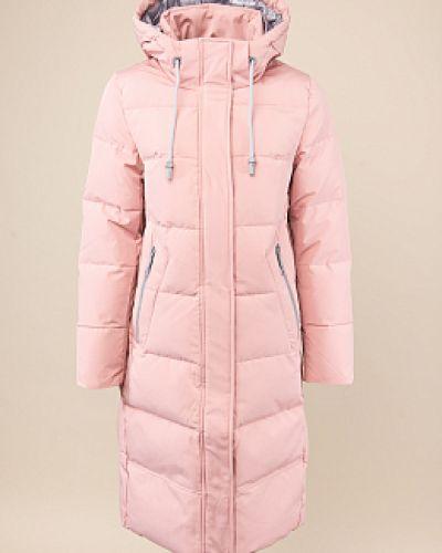Пуховик-пальто - розовый Snowimage