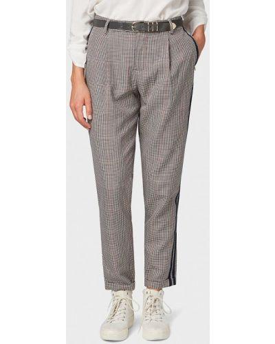 Серые брюки повседневные Tom Tailor Denim