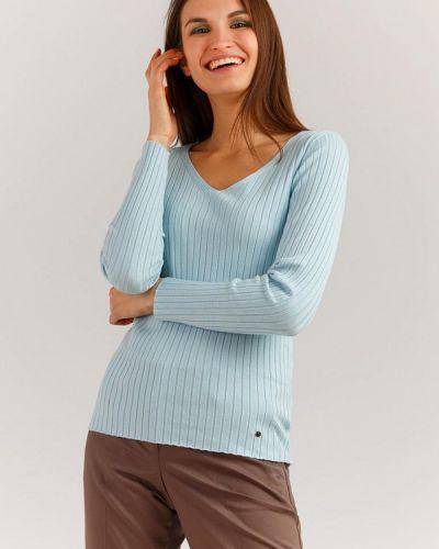 Голубой пуловер Finn Flare
