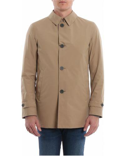 Płaszcz z kieszeniami od płaszcza przeciwdeszczowego z gniazdem Herno