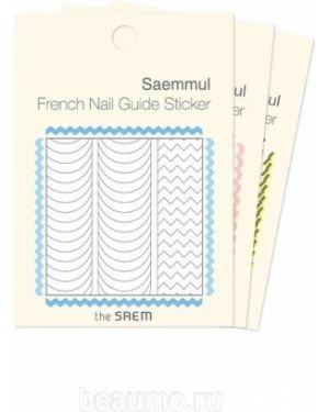Наклейка для ногтей розовый The Saem