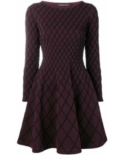 Платье с вырезом с узором Antonino Valenti