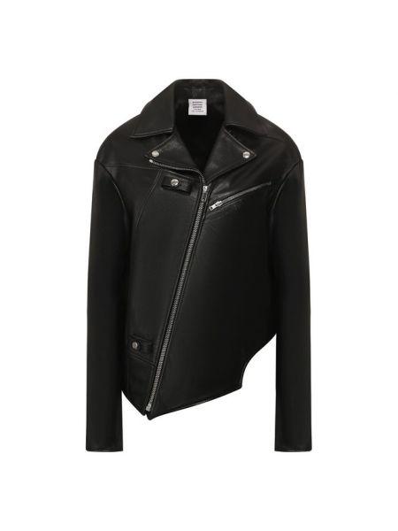 Кожаная куртка Vetements