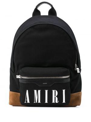 Черная сумка из канваса Amiri