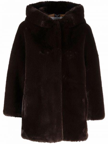 Коричневое пальто с карманами S.w.o.r.d 6.6.44