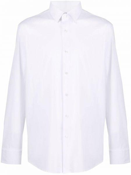 Длинная рубашка - белая Boss Hugo Boss