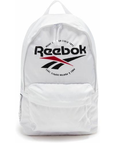 Рюкзак спортивный белый текстильный Reebok