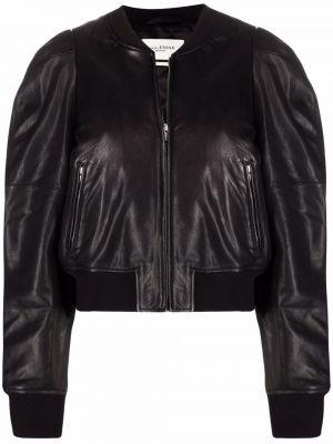 Черная куртка с воротником Isabel Marant étoile