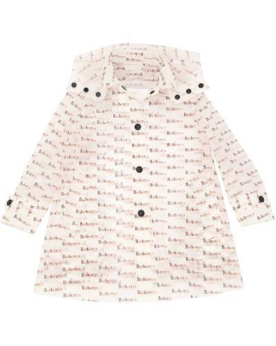 Płaszcz z mankietami z kapturem Burberry