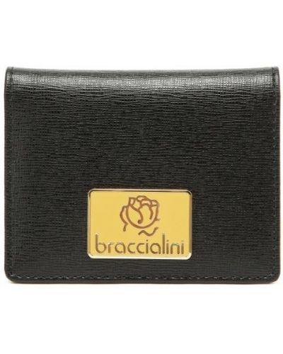Визитница черная Braccialini