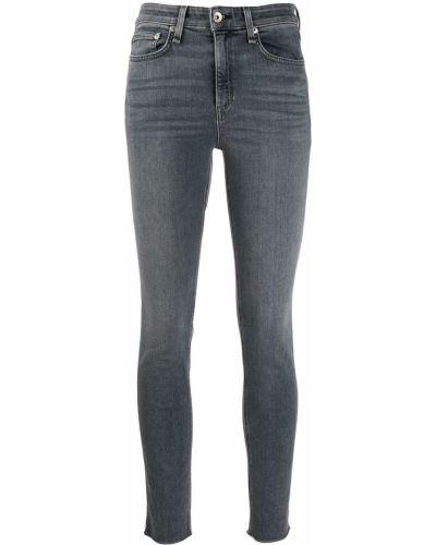 Джинсовые зауженные джинсы Rag & Bone/jean