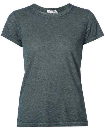 Хлопковая футболка прямая Rag & Bone/jean