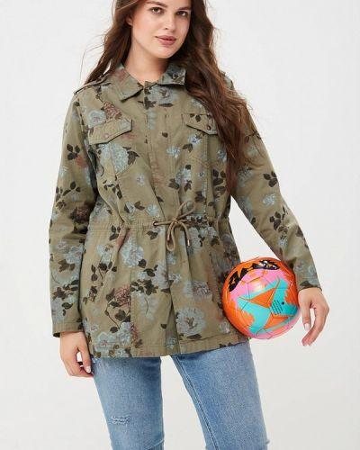 Куртка весенняя зеленая Zizzi