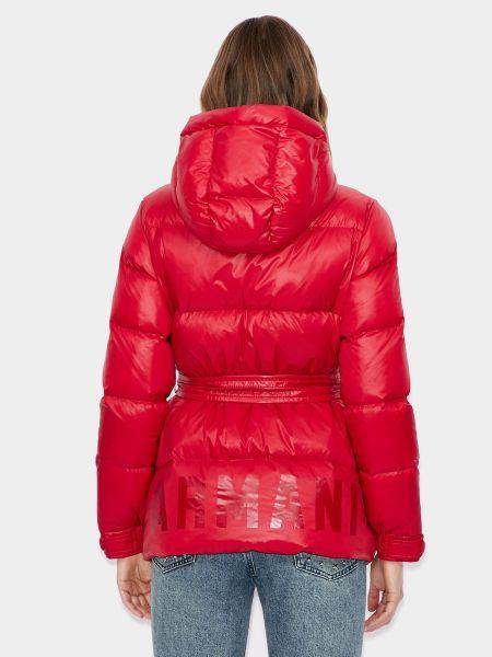 Красная куртка Armani Exchange