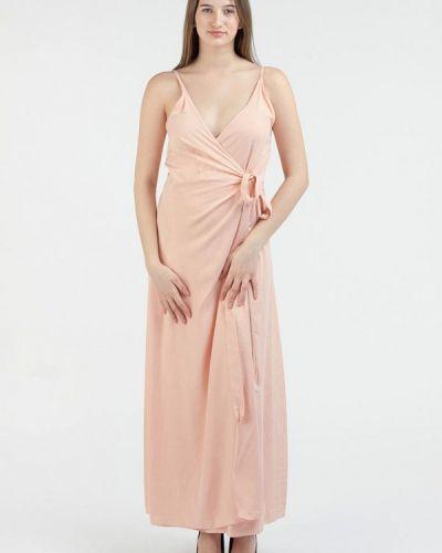 Платье розовое с запахом Intrico