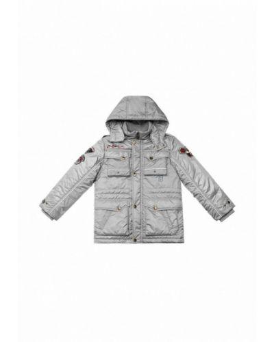 Серая куртка теплая Babyline