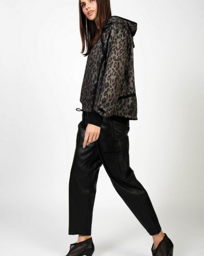 Кожаные брюки Set