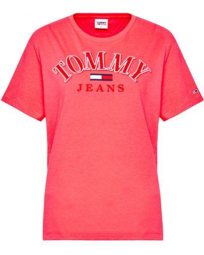 Różowy koszula jeansowa Tommy Jeans