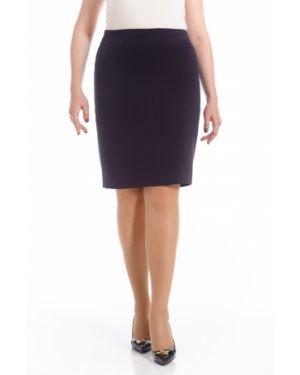 Классическая юбка миди с рукавом 3/4 для офиса Merlis
