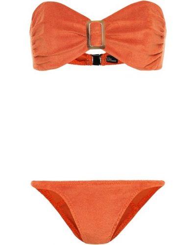 Оранжевые бикини Lisa Marie Fernandez