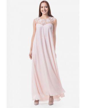 Вечернее платье розовое Seam