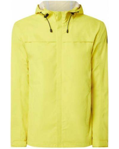 Żółta kurtka z kapturem na rzepy Icepeak