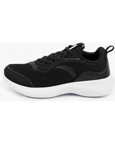 Нейлоновые черные кроссовки Anta