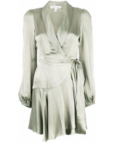Платье с запахом с длинными рукавами Shona Joy