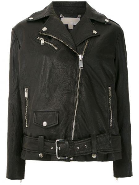 Черная длинная куртка Michael Michael Kors