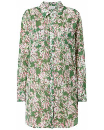 Zielona bluzka z długimi rękawami bawełniana Gerry Weber