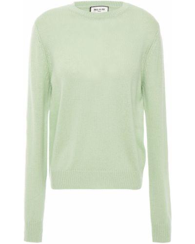 Зеленый шерстяной свитер Paul & Joe
