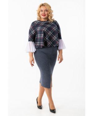 Джинсовая юбка с поясом Wisell