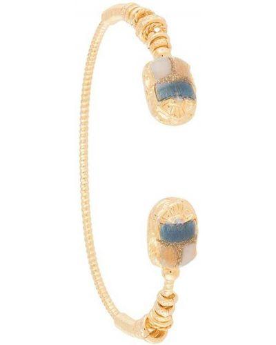 Золотистый желтый браслет Gas Bijoux