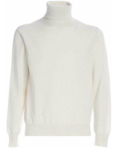 Biały sweter Ermenegildo Zegna
