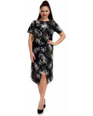 Платье мини в цветочный принт Liza Fashion