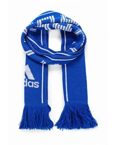 Синий шарф Adidas