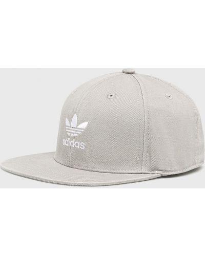 Шапка хлопковая серый Adidas Originals