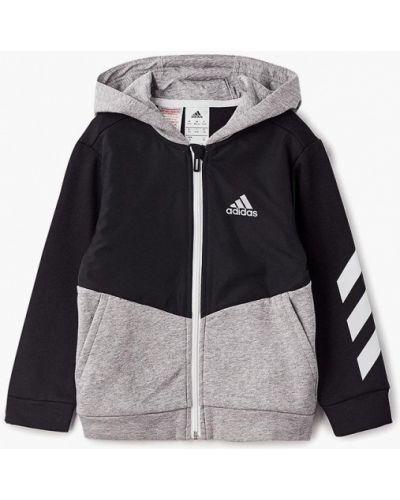 Черная толстовка Adidas