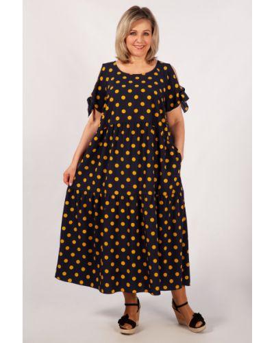 Свободное шифоновое платье бохо милада