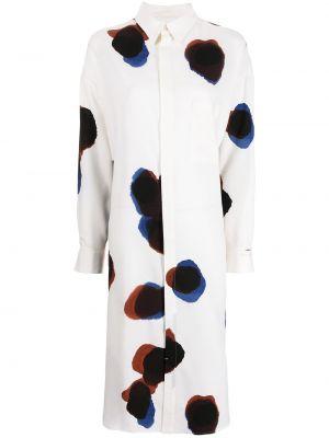 Biała klasyczna sukienka Ys