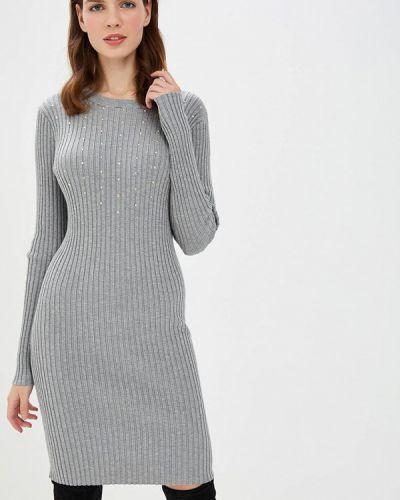 Вязаное платье осеннее трикотажное Love Republic
