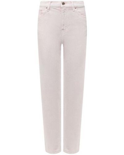 Розовые хлопковые джинсы Jacob Cohen