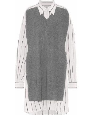Платье миди вязаное платье-майка Maison Margiela