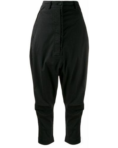 Черные брюки с поясом Rundholz Black Label