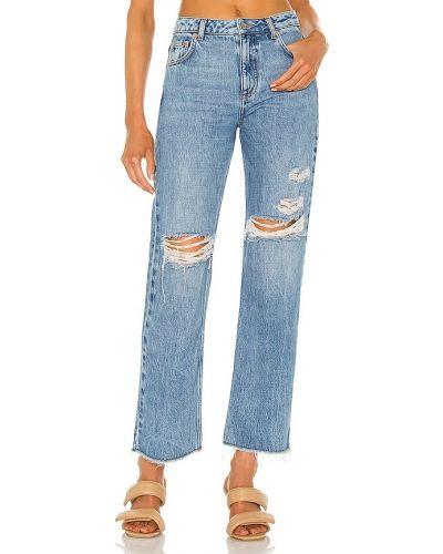 Niebieskie klasyczne jeansy Marissa Webb
