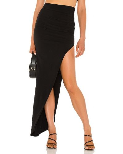 Черная асимметричная юбка Nookie